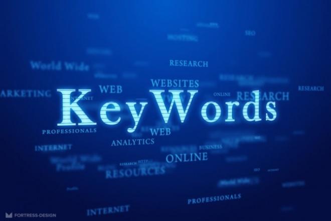 Парсинг ключевых слов через Key Collector 1 - kwork.ru