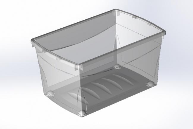 3D модель и рендер деталей из полимеров 1 - kwork.ru