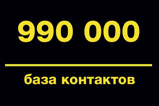 База email по теме Высокие технологии, криптовалюта 990000 шт 1 - kwork.ru