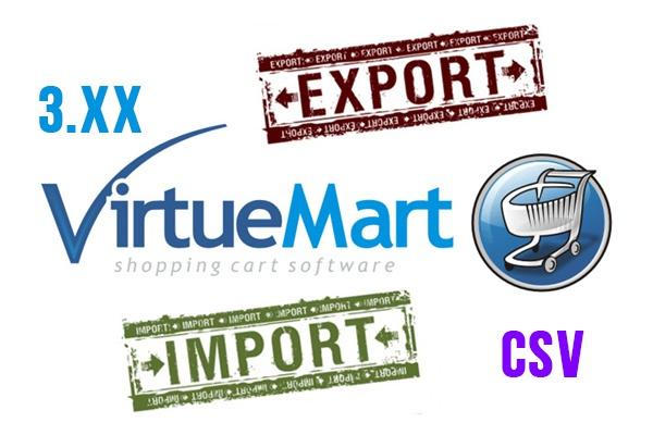 Импорт-Экспорт в Виртуемарт 3. хх из-в csvСкрипты<br>Выполню Импорт/Экспорт товаров в Виртуемарт 3. хх в формате csv. Внимательно проверяйте файлы csv на соответствие требованиям.<br>