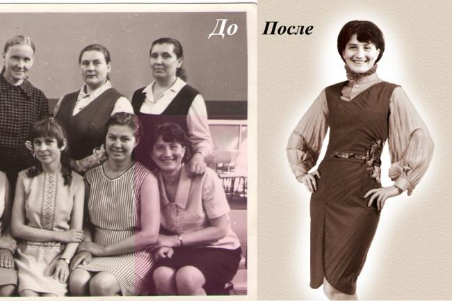 Восстановление фотографии 1 - kwork.ru