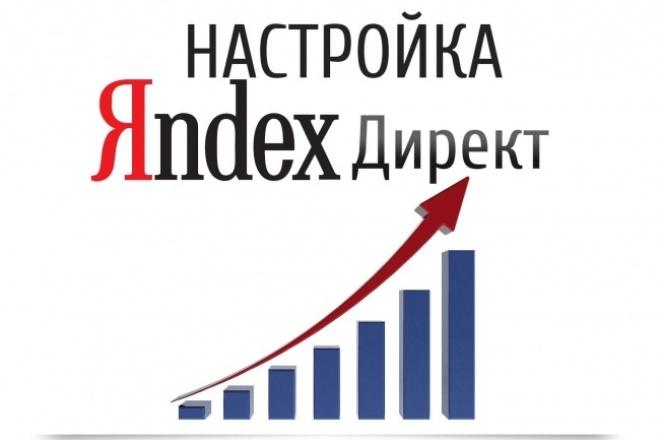 Настрою кампанию в Яндекс Директ 1 - kwork.ru