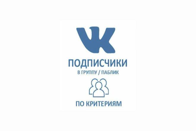 Приглашу подписчиков вконтакте 1 - kwork.ru