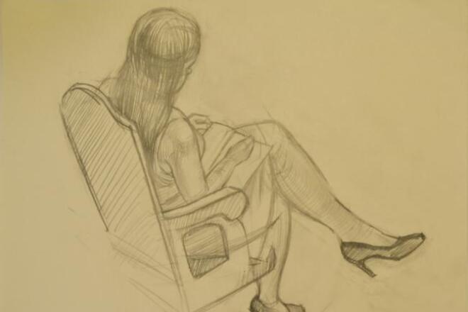 Нарисую скетч-портретИллюстрации и рисунки<br>Нарисую скетч по фотографии, акварелью, тушью, маркерами, фломастерами, гелиевыми ручками, темперой.<br>
