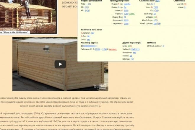 1250 записей под НЧ запросы для сайтов на Wordpress 1 - kwork.ru