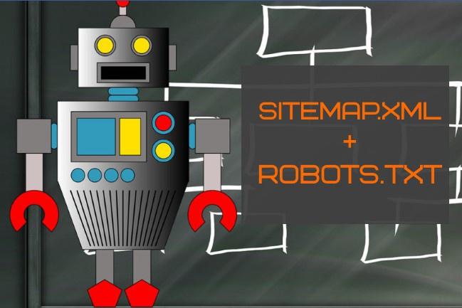 Идеальный sitemap и robots. txt для Вашего сайта 1 - kwork.ru