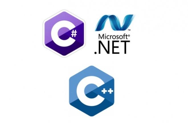 Напишу код на C, C plus plus, C SharpПрограммы для ПК<br>Напишу программу или реализую алгоритм на C, C plus plus, C Sharp. Напишу как консольное приложение так и приложение с формами.<br>