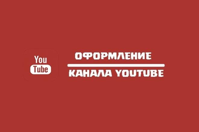 Оформление канала YouTubeДизайн групп в соцсетях<br>Сделаю качественно оформление канала на YouTube. По усмотрению могу сделать подарок в виде логотипа. Делаю все качественно + недорого. За стандартный кворк вы получаете: 1) Аватарку. 2) Шапку для канала. Если же вам не понравится работа , вы сможете её вернуть 2 раза на доработку.<br>
