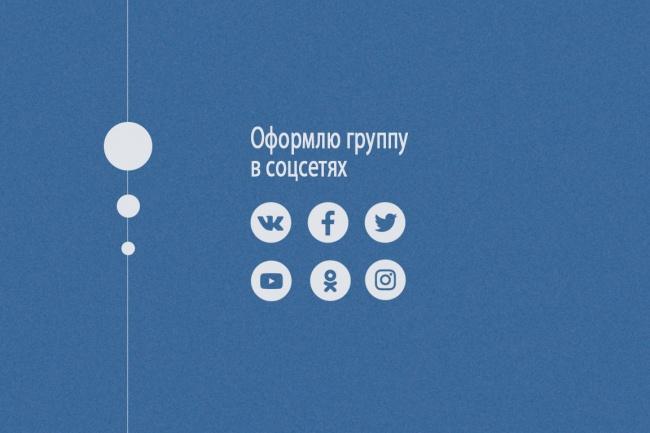 Сделаю обложку или аватарку для группы Vk, YouTube, Facebook, Twitter, Google+Дизайн групп в соцсетях<br>Сделаю дизайн для вашей группы, который выделит вас на фоне конкурентов и привлечет новую аудиторию. - Vkontakte - Facebook - YouTube - Twitter - Google+ За 500 рублей Вы получаете: одну аватарку или обложку в формате jpg, которую мы будем править, пока она полностью не устроит вас.<br>