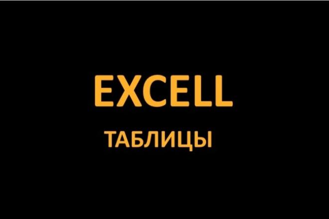 Таблицы Excel - ЭксельПерсональный помощник<br>Составлю таблицу в Excel под Ваши нужды. Если нужно, чтобы таблица сама считала - вставлю формулы. Можете нарисовать макет таблицы хоть на листе бумаги и сфотографировать - сделаю такую же.<br>
