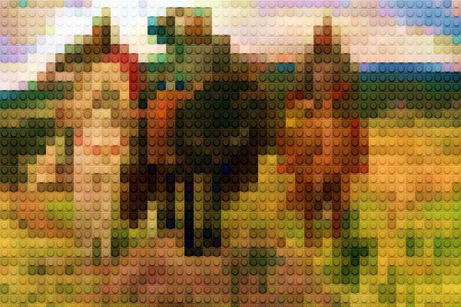 создам картину из кубиков Лего 3 - kwork.ru