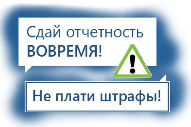 Подготовлю нулевую налоговую отчетность 1 - kwork.ru
