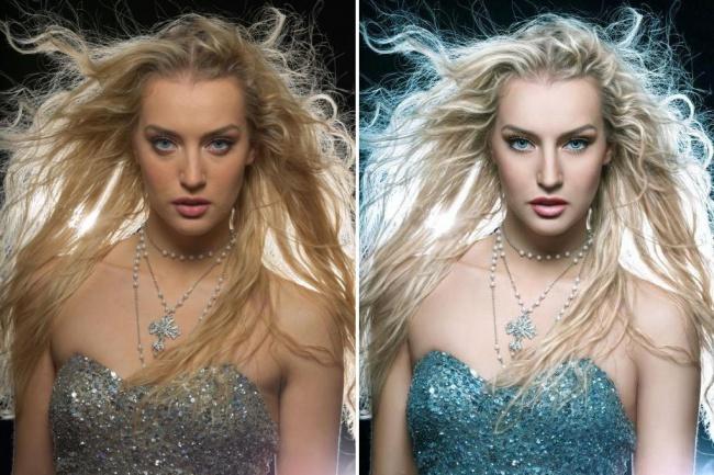 Портретная ретушь кожи на фотографии 1 - kwork.ru