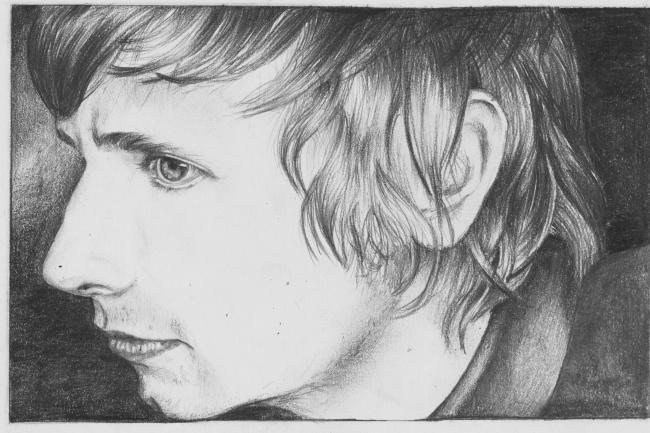 Рисую портреты по фото, акварель, карандаш, диджитал-арт 1 - kwork.ru