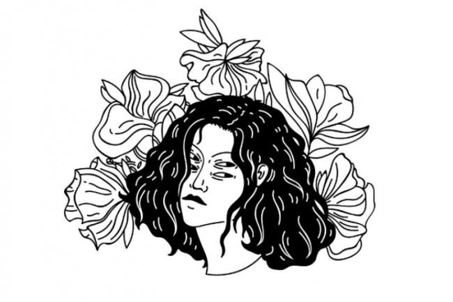 Создам небольшой эскиз татуировки 1 - kwork.ru