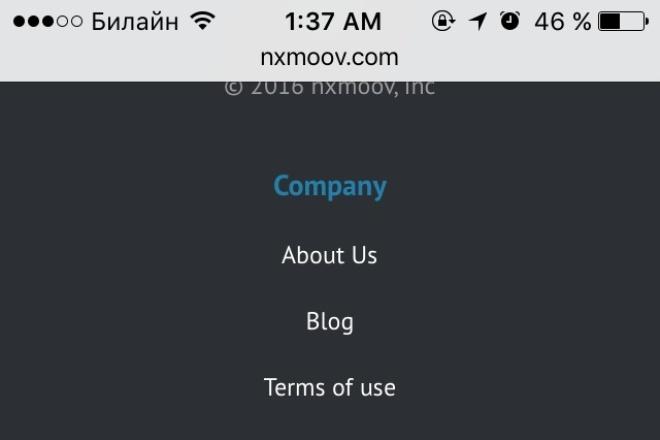 Адаптация сайта / страницы / час работы по фронту 1 - kwork.ru