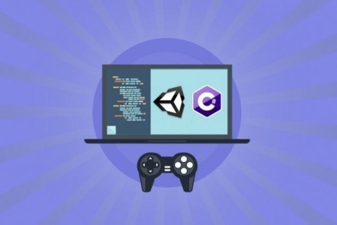 разработаю игру на  Unity (Unity3D) 1 - kwork.ru