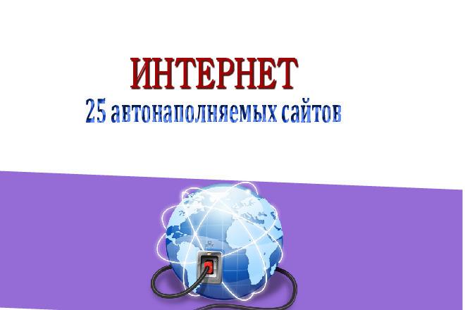 25 сайтов по тематике Интернет с бонусами и установкой за 500 рублей 21 - kwork.ru