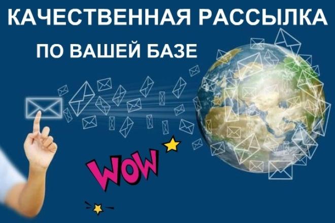 Оформлю письмо и выполню рассылку 1 - kwork.ru