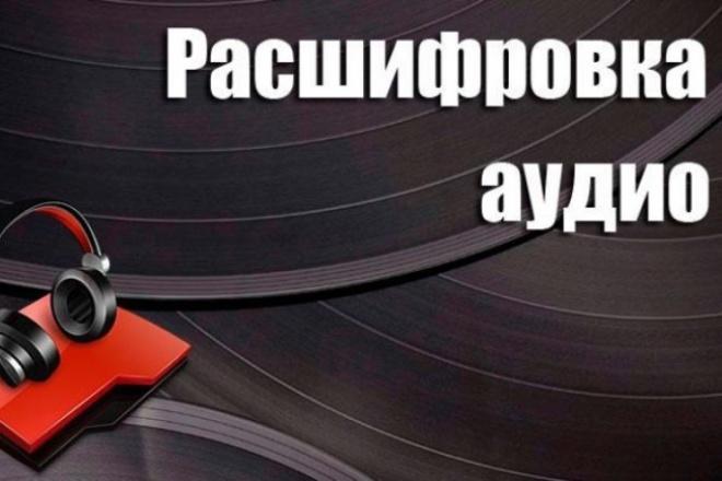 Переведу аудиозаписи любой сложности в текст 1 - kwork.ru