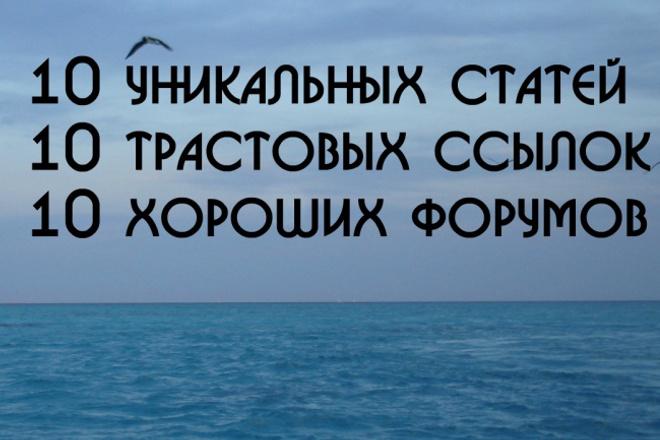 сделаю рекламу на форумах 1 - kwork.ru