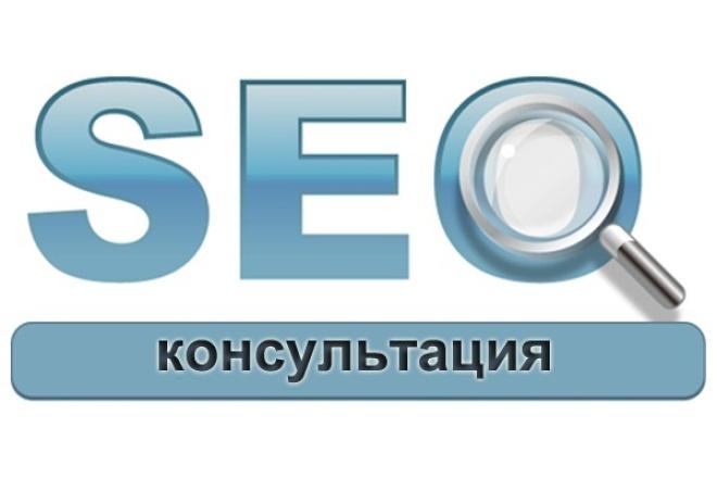 Консультация по оптимизации сайта 1 - kwork.ru