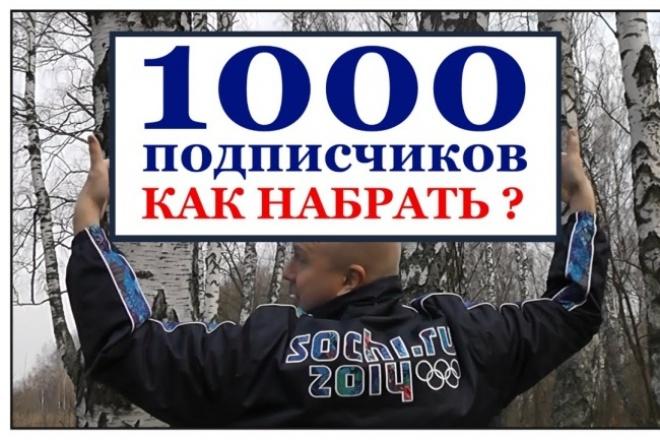 Сделаю 1000 подписчиков в twitter 1 - kwork.ru