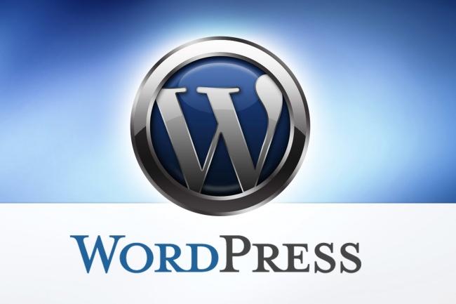 Создам сайт на WordpressСайт под ключ<br>Установлю CMS Wordpress на ваш хостинг и подберу шалон под ваш будущий сайт. Предоставлю миниму 5 вариантов шаблонов на выбор. Покажу их функциональность ещё до выбора их вами. Скину их вам для самостоятельной установки. Если хотите, чтобы установил шаблон я, то выбирайте дополнительный кворк.<br>