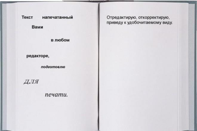 подготовлю ваши файлы для печати 1 - kwork.ru