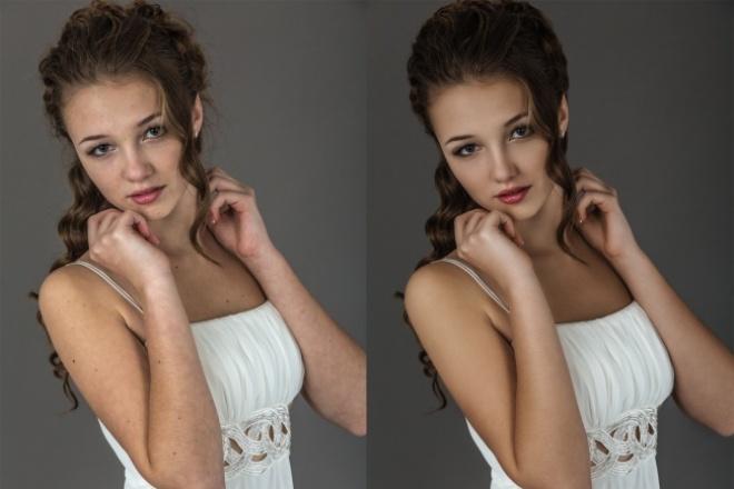 Отретуширую 5 фото, уровень обработки высокий 1 - kwork.ru