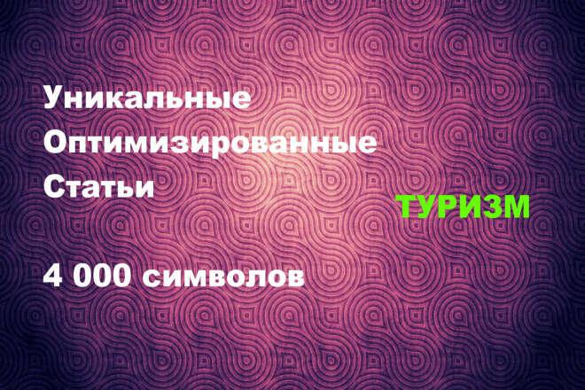 Уникальная статья 4000 символов Туризм 1 - kwork.ru