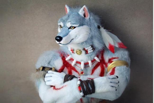 Чертежи для  изготовления фигурки анимэ персонажа, фурря, животного по  картинке 1 - kwork.ru