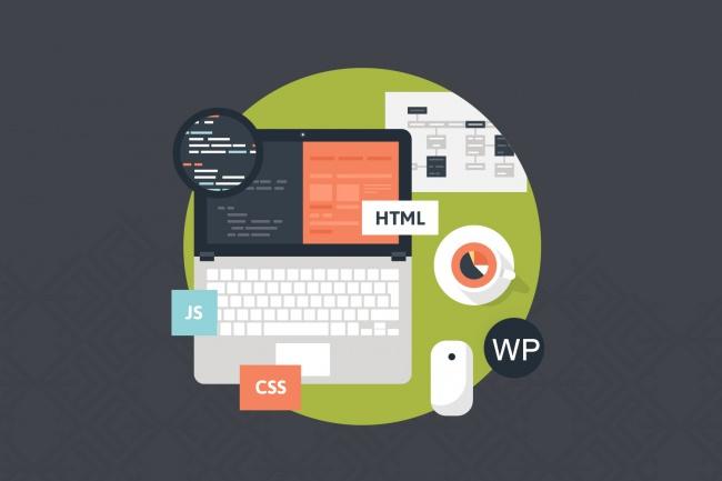 Верстка и натяжкаВерстка и фронтэнд<br>Верстка адаптивная или фиксированная. CSS и jquery анимация. Натяжка на CMS Wordpress. Качественное выполнение.<br>