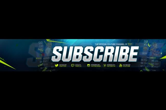 Оформление вашего канала на Youtube 1 - kwork.ru
