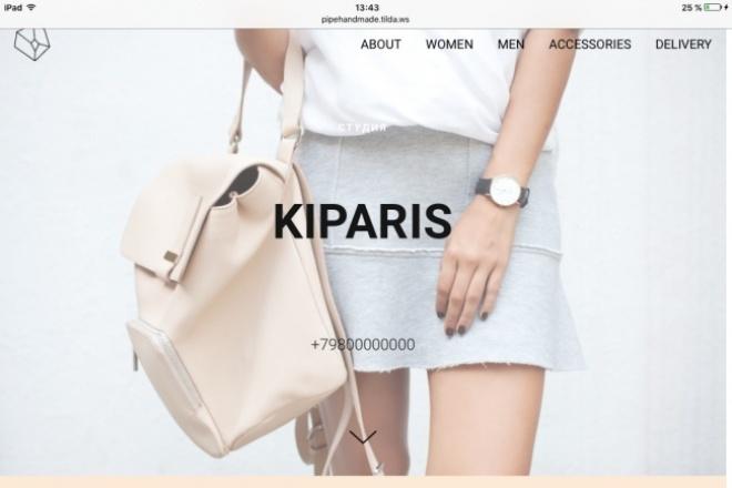 Создам сайт, лендинг, одностраничник на Tilda 1 - kwork.ru