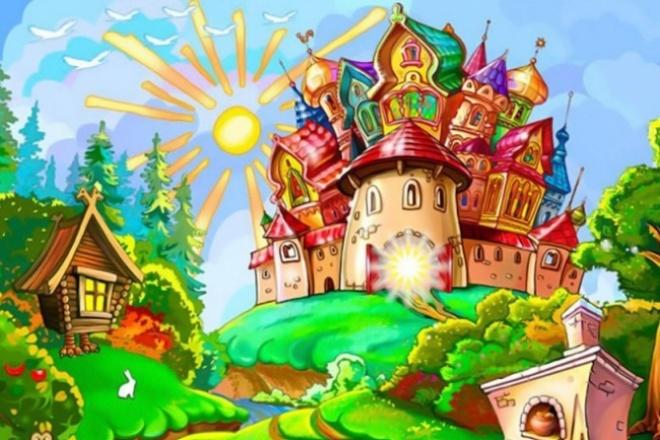 Напишу сказку для вашего ребенкаСтихи, рассказы, сказки<br>Напишу сказку для малышей. Главные герои оригинальны, приключения волшебные, также в роли главного героя может выступать именно ваш малыш.<br>