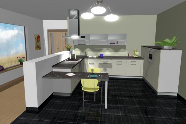 Визуализация интерьера в 3D 1 - kwork.ru