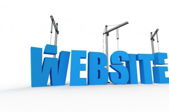Создам простой, но симпатичный сайт-визитку или блог 1 - kwork.ru