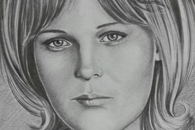 Портрет карандашом на формате A4 1 - kwork.ru