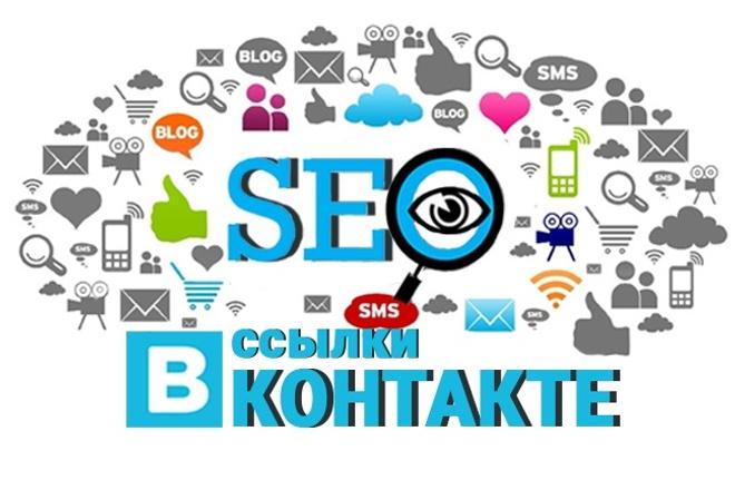 Ручное размещение навсегда ссылки в группах Вконтакте на Ваш сайт 1 - kwork.ru
