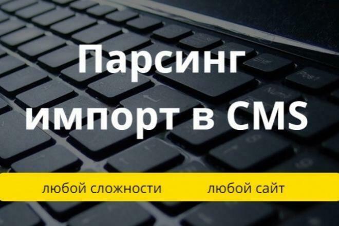 Парсинг сайтов, интернет-магазинов, импорт товаров 1 - kwork.ru