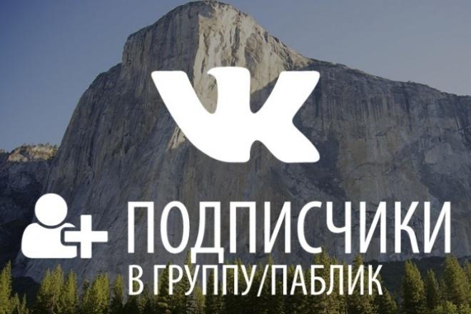 500 живых подписчиков (в возрасте от 18 до 24 лет) 1 - kwork.ru