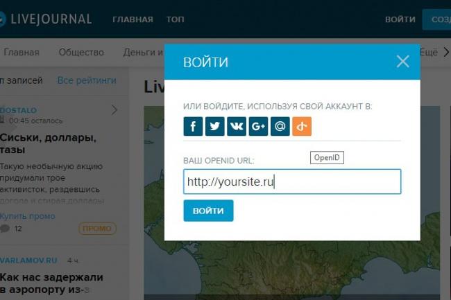 Настрою OpenID на вашем WordPress-сайте 1 - kwork.ru