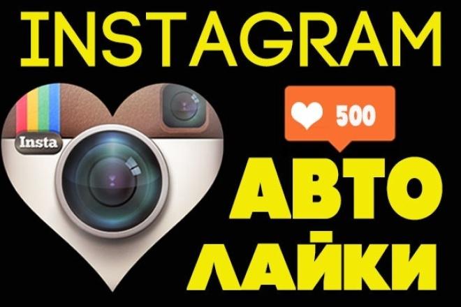 буду накручивать автолайки инстаграм instagram в течение недели 1 - kwork.ru