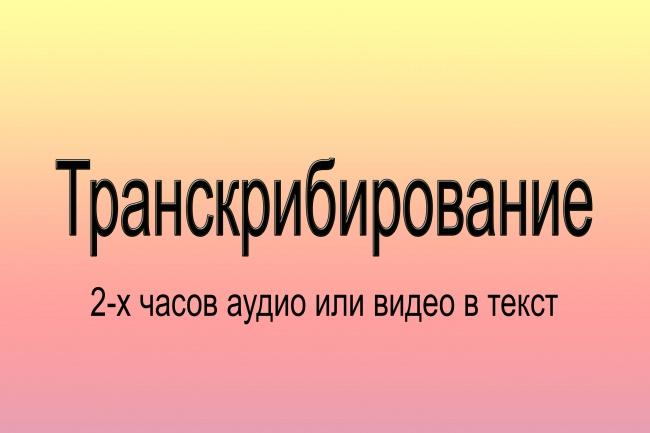 Транскрибирую 1 - kwork.ru