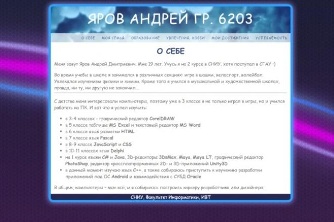 напишу сайт 1 - kwork.ru