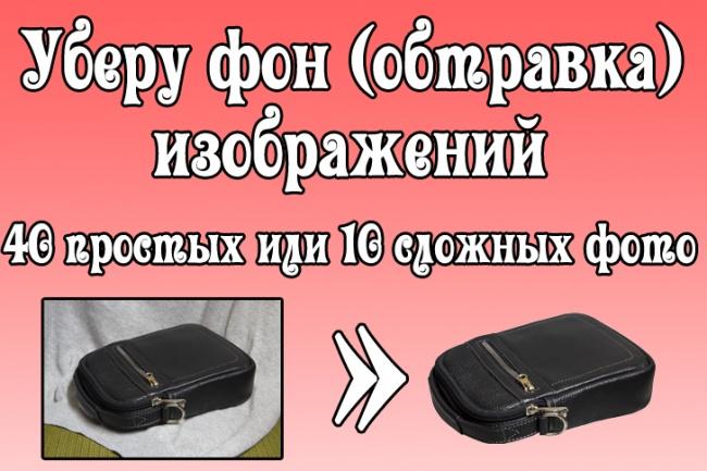 Уберу фон с изображений - обтравка 1 - kwork.ru