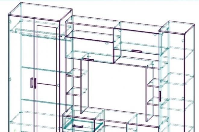 Пакет документов для производства корпусной мебелиМебель и дизайн интерьера<br>Расчет изделий. Разработка конструктивного решения. Ведомости для производства. Подбор фурнитуры. Расчет себестоимости изделия. Деталировка, разработка схем сборки, монтажная документация. Управляющие программы для Hirtz, BHX, BHT 2D фрезеровки g-code.<br>