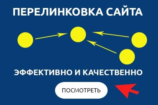 Перелинковка страниц сайта 1 - kwork.ru