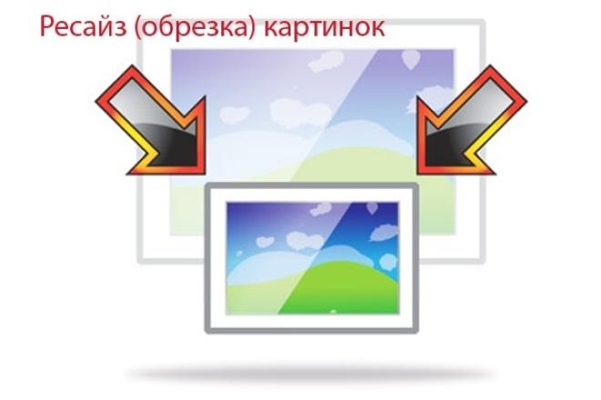 Выполню обрезку фотографий для вашего магазина или сайта до нужного размера 1 - kwork.ru